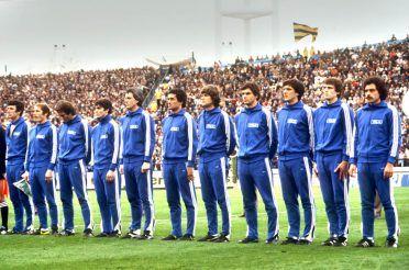 La tuta adidas dell'Italia ai Mondiali del 1978