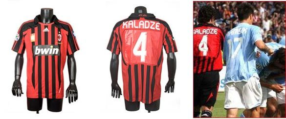 Maglia Kaladze Napoli-Milan 2008