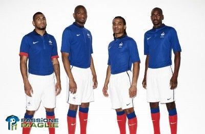 Kit Francia Nike 2011