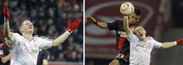 Schweinsteiger Bayern Monaco sponsor al contrario