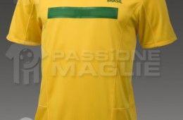 Maglia Brasile home 2011-2013