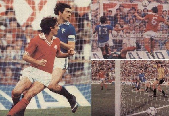 Milan con la maglia blu del Perugia 1979