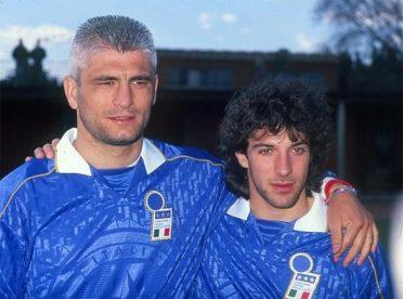 Ravanelli e Del Piero Italia 1995
