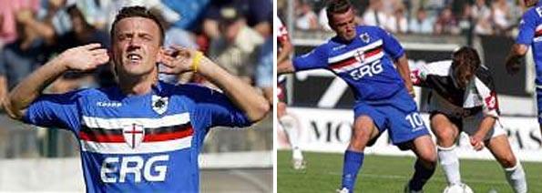 Maglia Flachi Siena-Sampdoria 2004