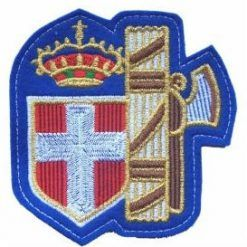 Lo stemma sulle maglie dell'Italia durante l'epoca fascista