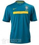 Seconda maglia away del Brasile 2011