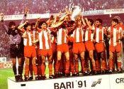 Stella Rossa Campione d'Europa 1991