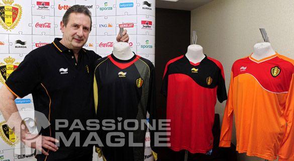 Maglie Belgio 2011-2012