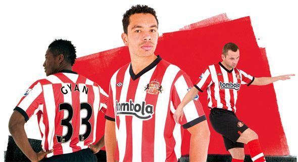 Sunderland kit 2011-2012