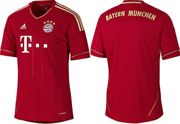 Bayern Monaco home Adidas 2011-2012