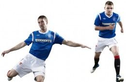 Divisa home Rangers 2011-2012