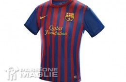 Casacca Barcellona home Nike 2011-2012