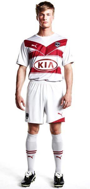 Seconda maglia Bordeaux Puma 2011-2012