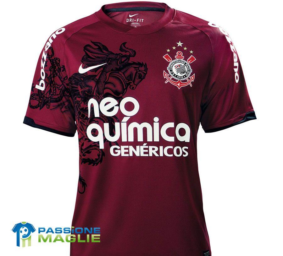 Terza divisa Corinthians 2011 - Nike