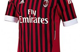 Prima maglia Milan 2011-2012 Adidas