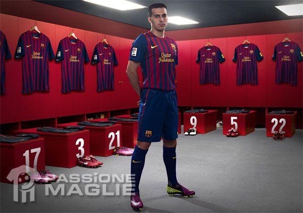 Pedro kit Barcellona 2011-2012