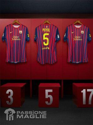 Retro maglia home Barcellona 2011-2012