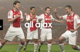 Il completo dell'Ajax 2011-12