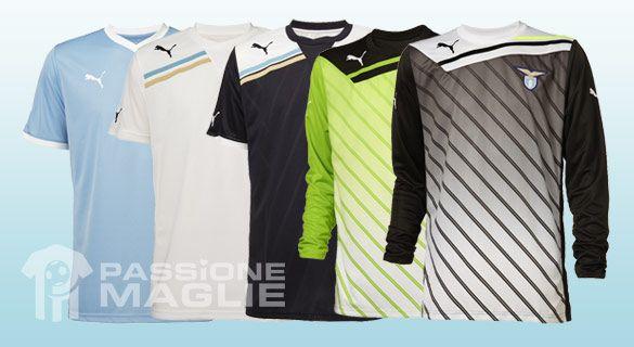 Maglie da gioco e da portiere Lazio 2011-12