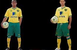 Maglia home Norwich 2011-12 Erreà