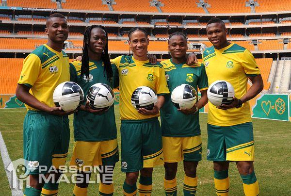 Divise della nazionale Sudafricana 2011-2012