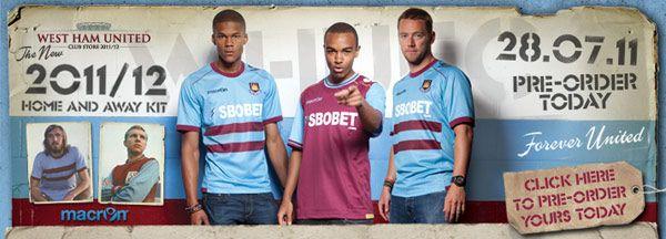 Divise West Ham 2011-2012