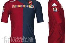 Maglia home Cagliari 2011-2012