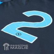 Numero maglia Napoli grigia 2011-2012