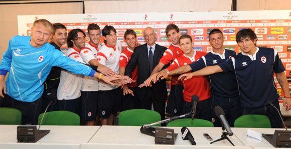 Le maglie del Bari 2011-2012