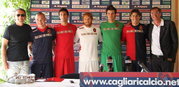 Divise Cagliari Calcio 2011-2012