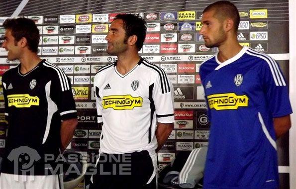 Divise Cesena 2011-2012 Adidas