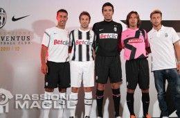 La collezione Nike per la Juventus 2011-2012