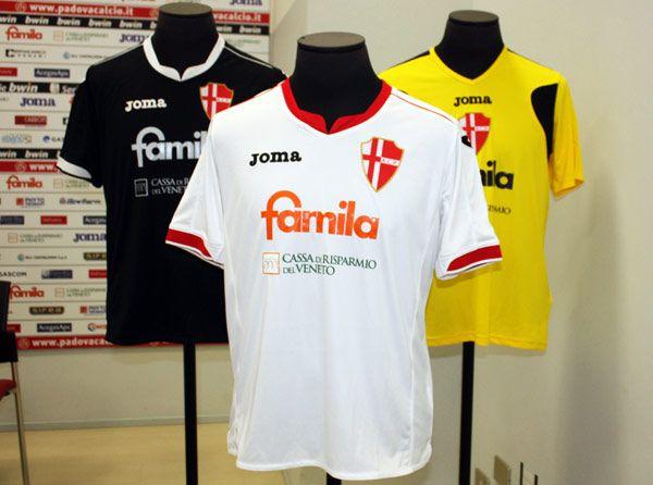 Divise Padova calcio 2011-2012
