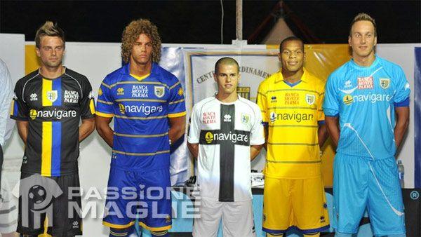 Maglie Parma 2011-2012