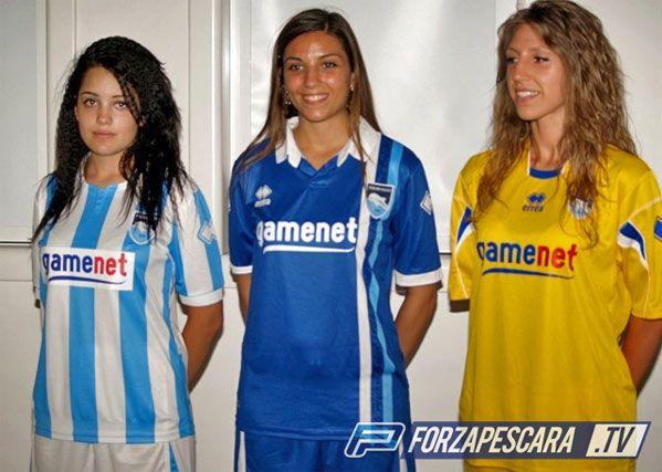 Maglie Pescara calcio 2011-2012