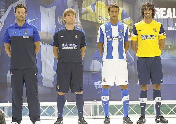 Maglie Real Sociedad 2011-12 Nike