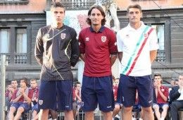 Le tre maglie Reggiana 2011-2012