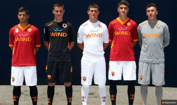 Divise AS Roma 2011-2012 Kappa
