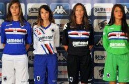 Maglie Sampdoria 2011-2012 Kappa