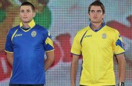 Le divise dell'Hellas Verona 2011-2012 Asics