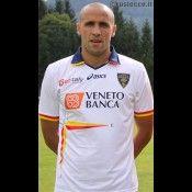Seconda maglia Lecce 2011-2012