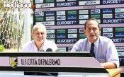 Fase conferenza stampa maglie Palermo