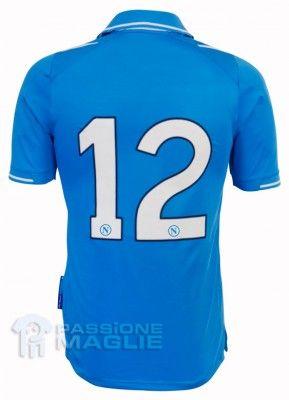 Retro maglia azzurra Napoli 2011-2012
