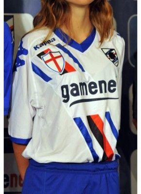 Maglia away Sampdoria Kappa 2011-2012