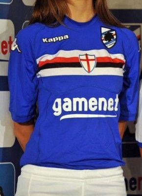 Maglia home Sampdoria 2011-12 Kappa