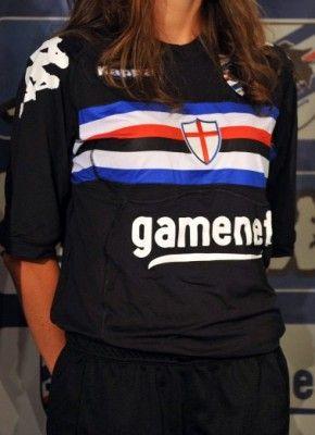 Terza maglia Sampdoria 2011-2012 Kappa