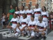 Maglia away Genoa flash mob