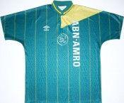 Seconda maglia Ajax 1991-93