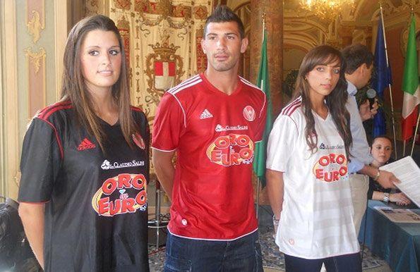 Divise Varese Calcio 2011-2012