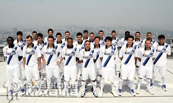 Presentazione della seconda maglia dell'Inter a Pechino